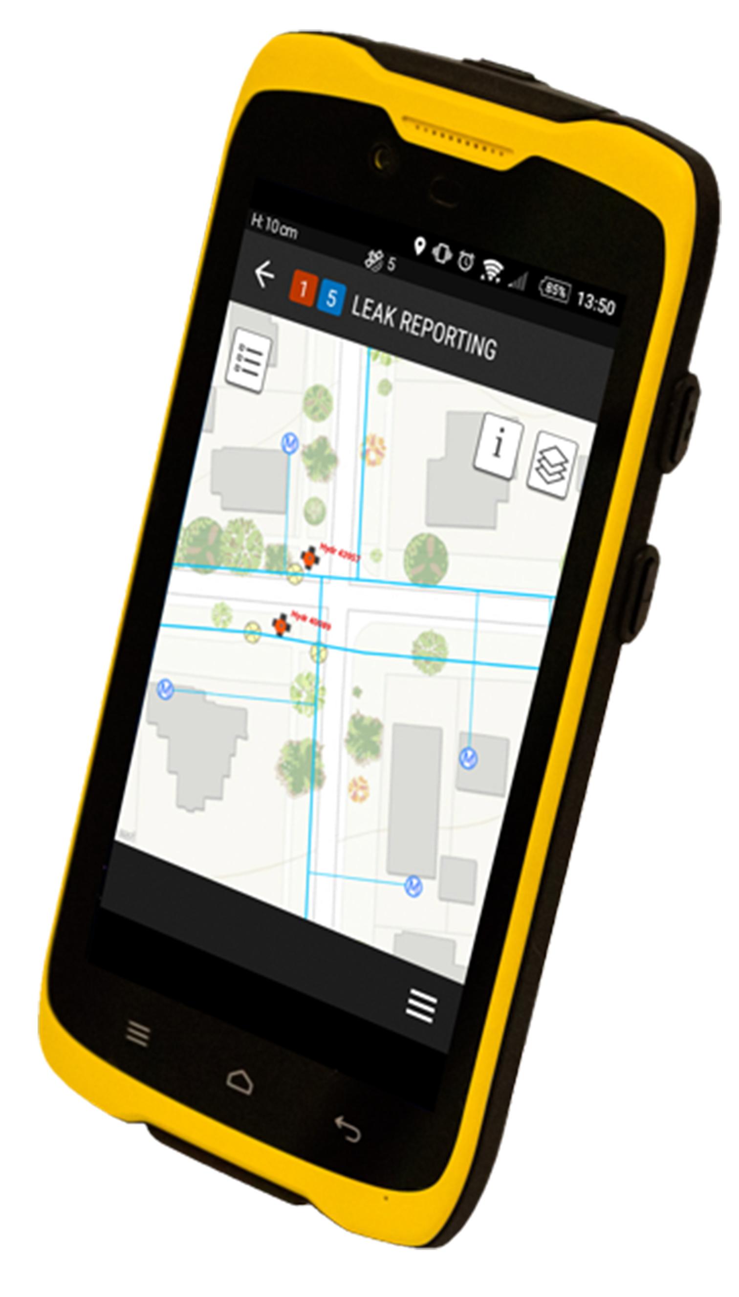 GéoArdèche - GPS professionnel