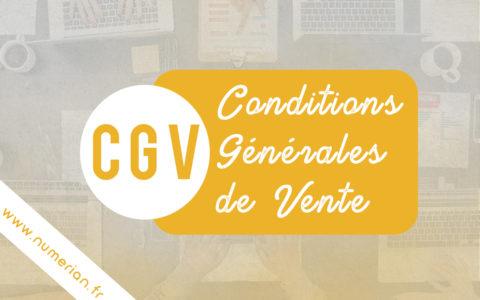 CGV numérian