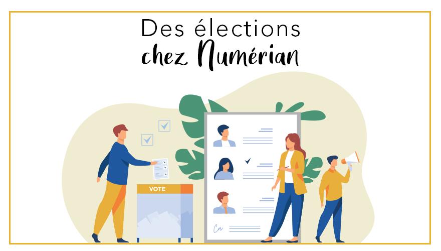 Des élections chez numérian